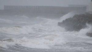 Japan typhoon Haishen