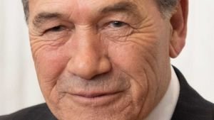 Minister Winston Peters
