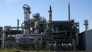 Preem oil refinery