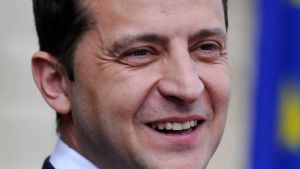 President Volodymyr Zelensky