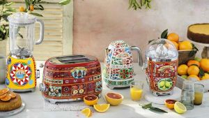 Smeg and Dolce and Gabbana