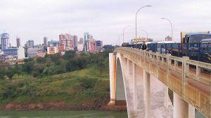 Brazil Paraguay border