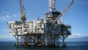 Oil and natural gas rig