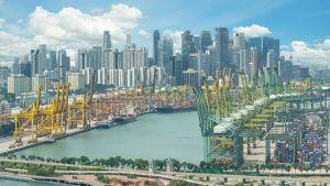 Singapore port