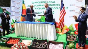 USAID-Ethiopian Airlines partnership
