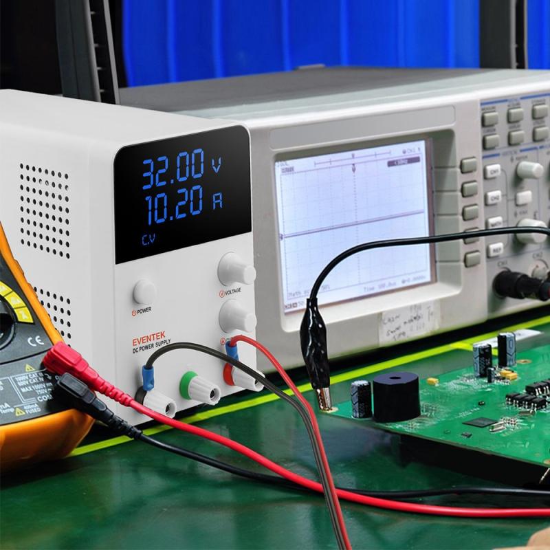 DC Power Supply (0-32V, 0-10.2A)