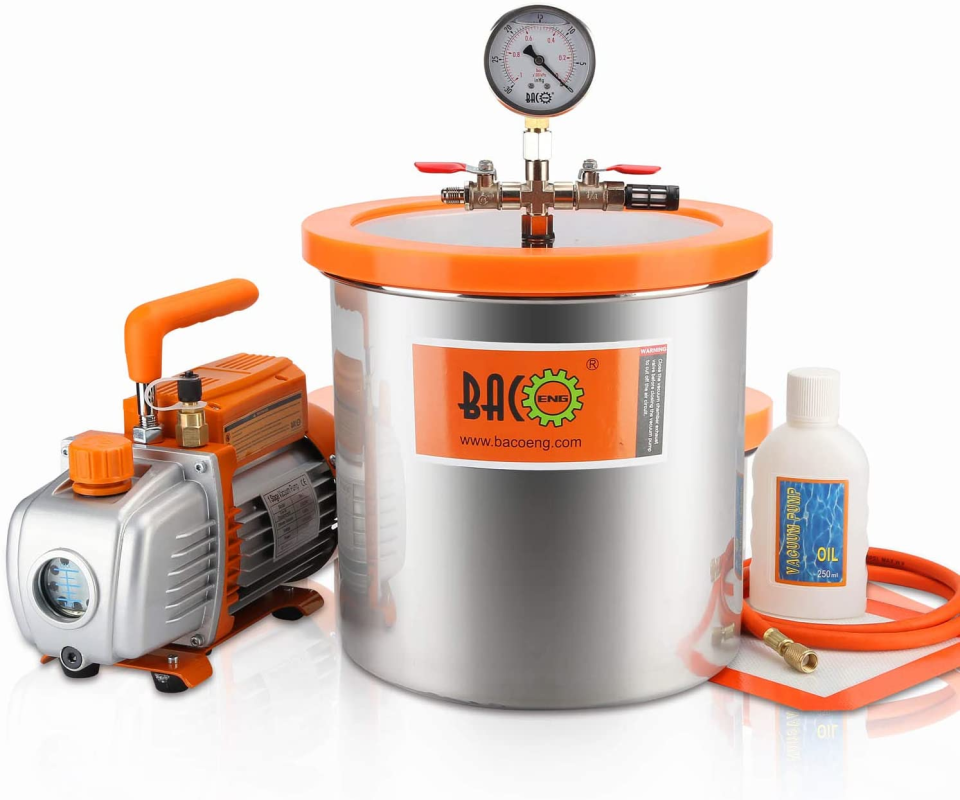 Vacuum Chamber and Pump