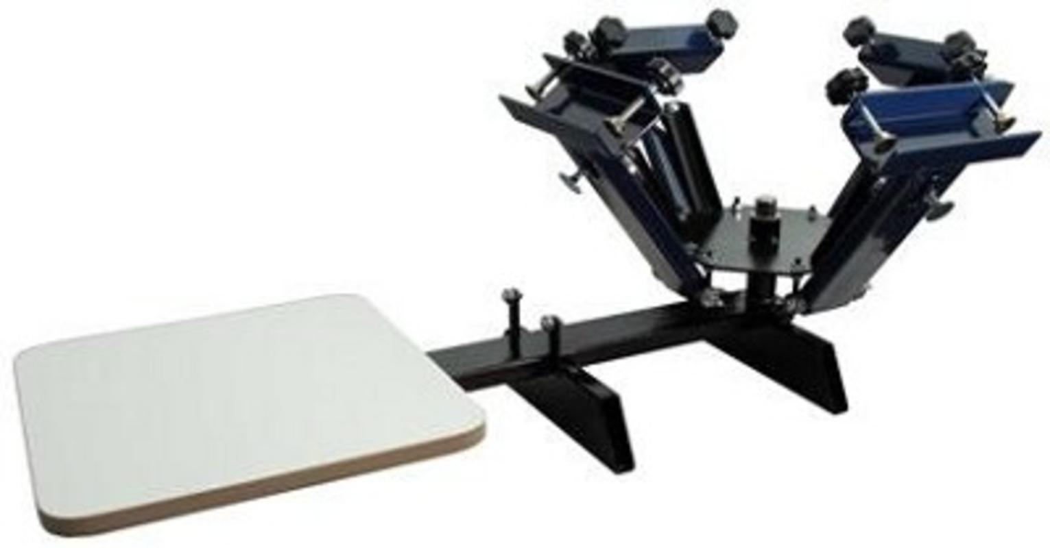 Genesis Manual Press - 4 Color