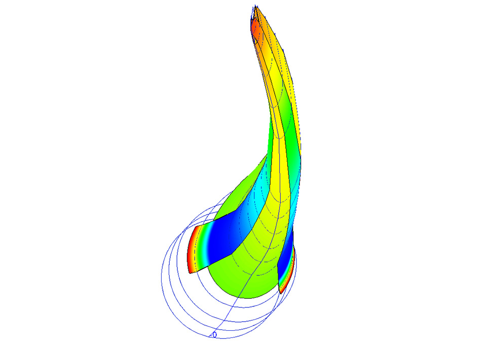 Turbine Blade FEA Analysis