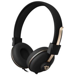 POSSหูฟัง (สีดำ/ทอง) รุ่น PSH196BG