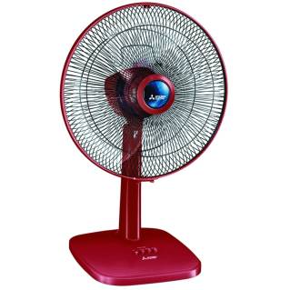"""MITSUBISHI ELECTRICTable Fan (16"""", Red) D16-GY-CY-RD"""
