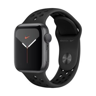 APPLEWatch Nike Series 5 GPS (40mm, Space Gray Aluminum Case, Anthracite/Black Nike Sport Band)