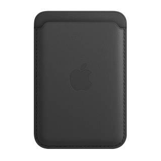 APPLEเคสหนังแบบกระเป๋าสตางค์พร้อม MagSafe สำหรับ iPhone (สี Black)
