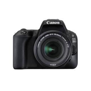 CANONDSLR Camera (24 MP, Black) EOS 200D (BK) 18-55IS STM