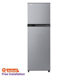 TOSHIBADouble Doors Refrigerator (8.9 Cubic, Silver) GR-B31KU(SS)