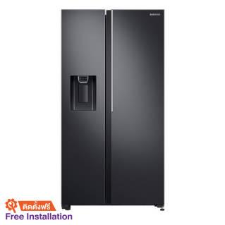 SAMSUNGSide by Side Refrigerator (22.4 Cubic) RS64R5131B4/ST