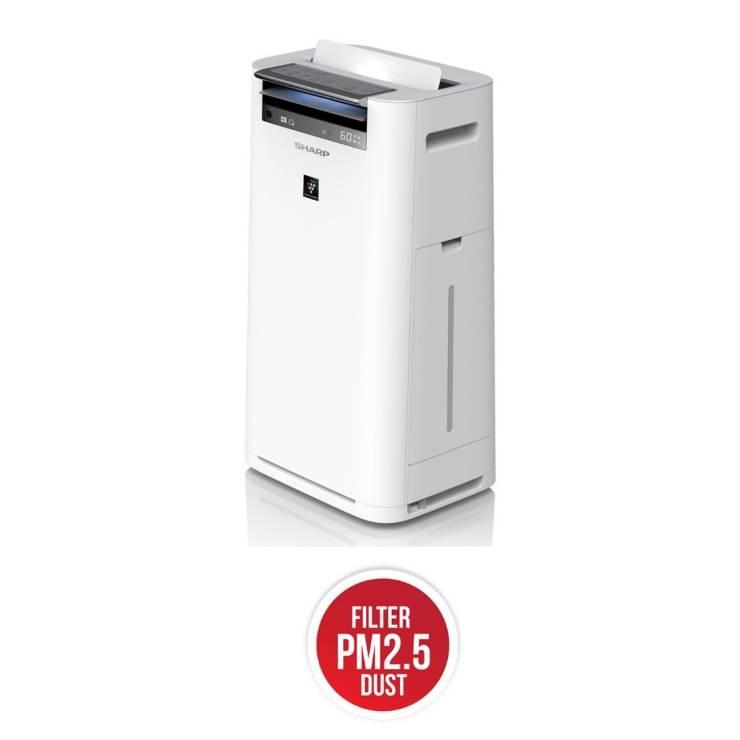 Sharp Air Purifier (38 Sqm, White) KC