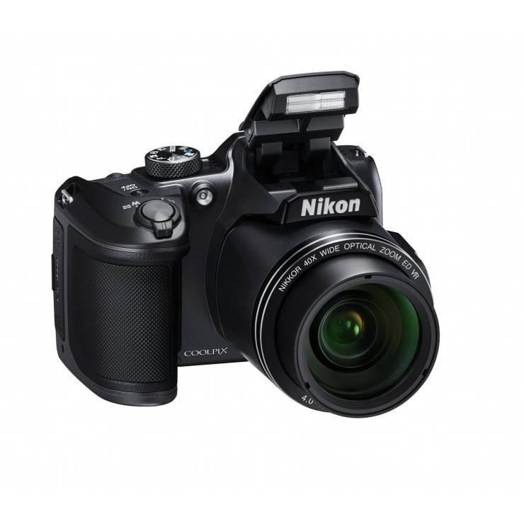 Digital Camera (16 MP, Black) Coolpix B500