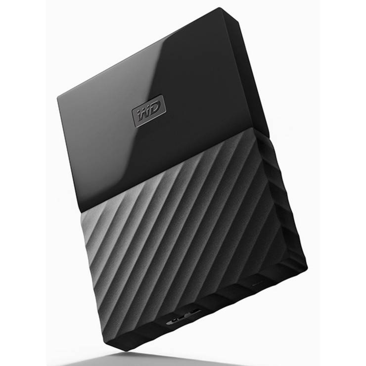 External Hard Drive (4TB, Black) My Passport WD WDBYFT0040BBK-WESN BK