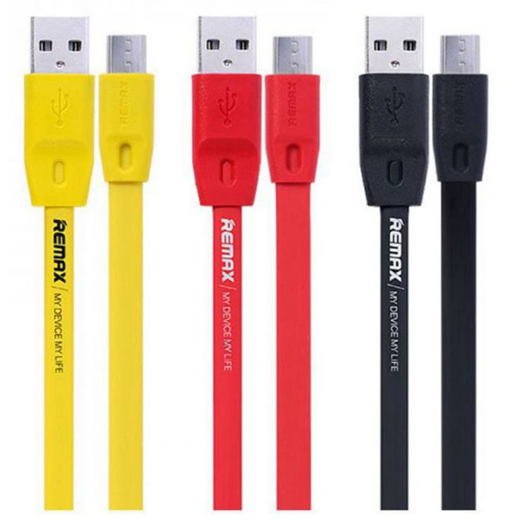 สายชาร์จ USB MICRO (2 เมตร,สีเหลือง) รุ่น RM-DV02