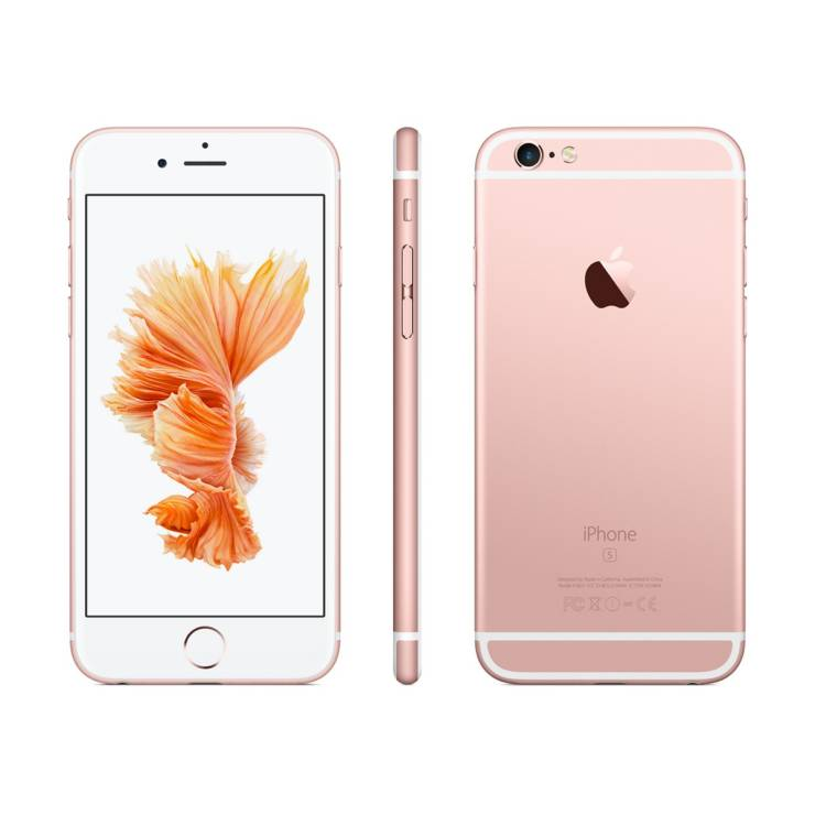 apple rose gold iphone 6s