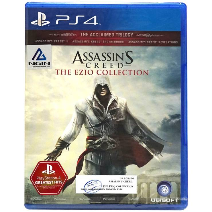 Software Playstation Game Assassin S Creed The Ezio Collection R3en Plas 07087