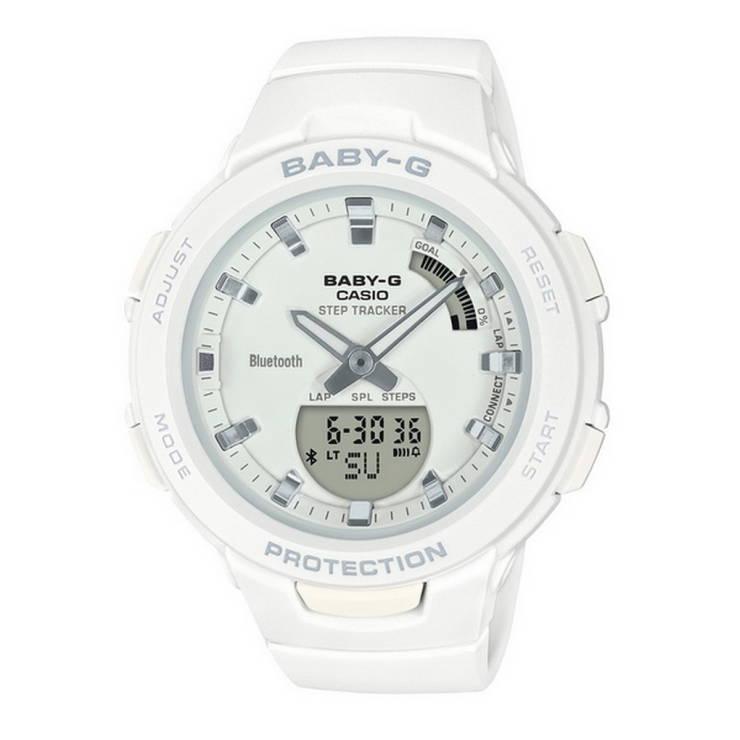 1a85d447b5 Baby-G Watch (White) BSA-100-7ADR