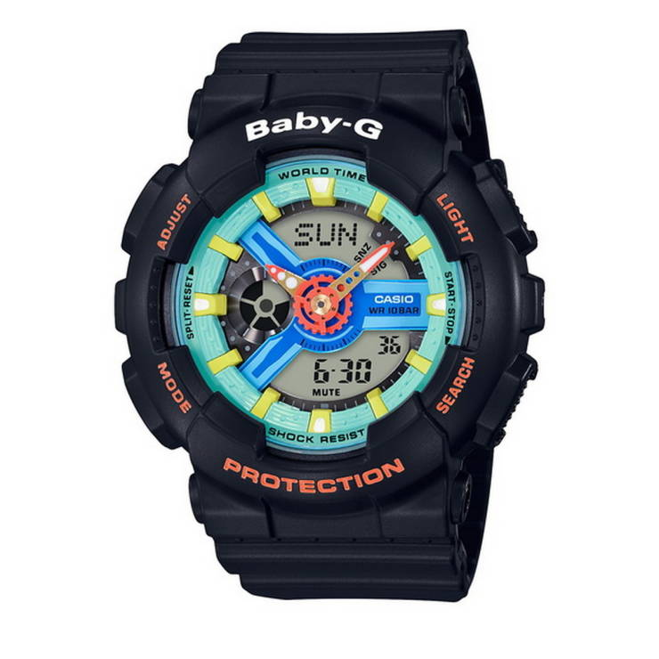 b9e4ed88f9 Baby-G Watch (Black) BA-110NR-1ADR