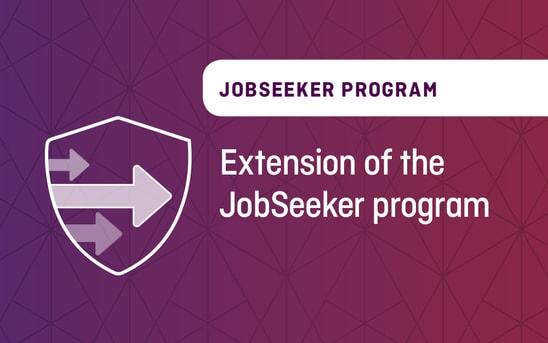 Extension of the JobSeeker program