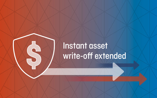 Instant asset write-off extended