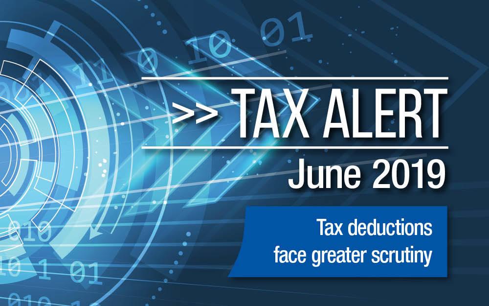 Tax Alert – June 2019