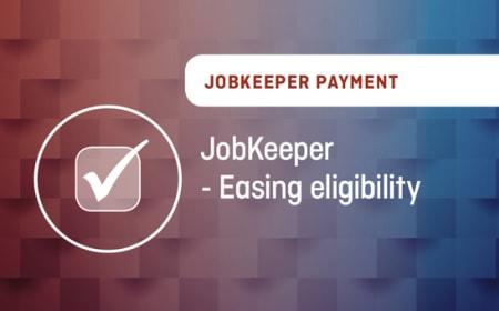 JobKeeper – Easing eligibility