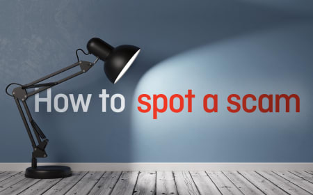 How to spot a scam