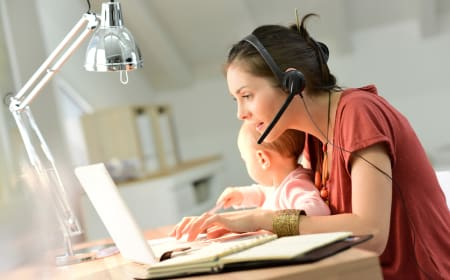 5 Tips to work productively remotely