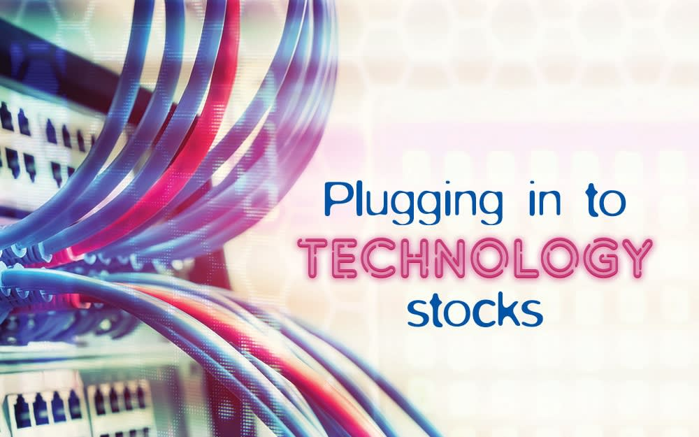 Plugging in to technology stocks