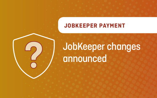 JobKeeper changes announced