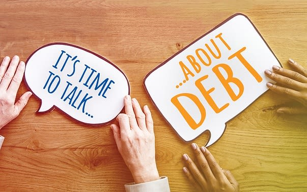 It's time to talk about debt