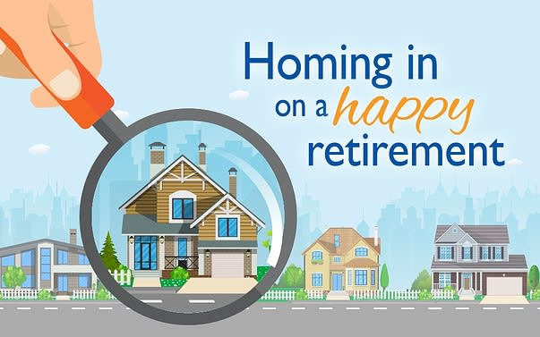 Homing in on a happy retirement