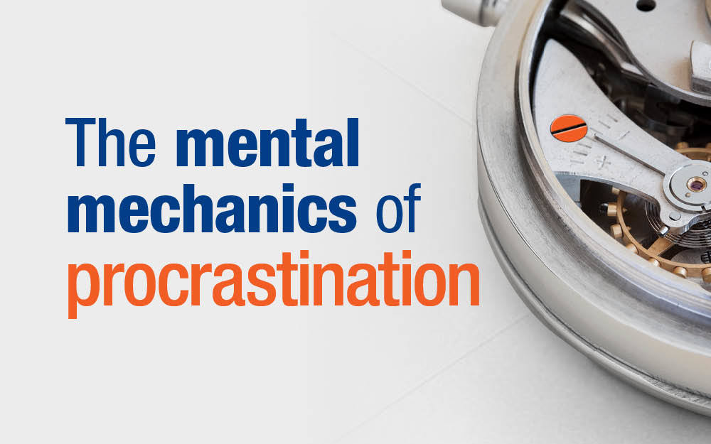 The mental mechanics of procrastination