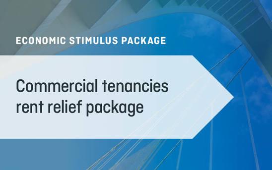 Commercial tenancies rent relief package