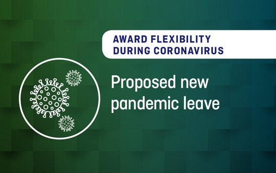 Award Flexibility During Coronavirus