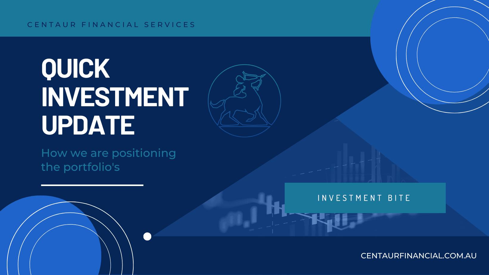 Quick Investment Update