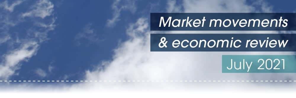 Market movements & review video – July 2021