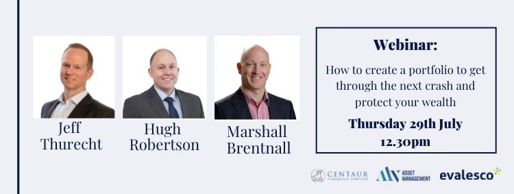 How to create a portfolio to get through the next crash and protect your wealth – Webinar