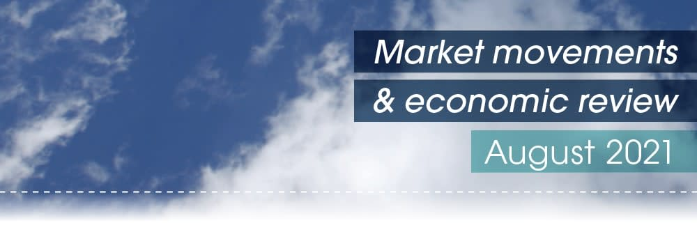 Market movements & review video – August 2021