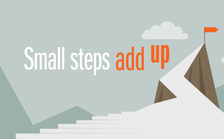 Small steps add up