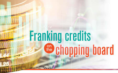 Franking credits on the chopping board