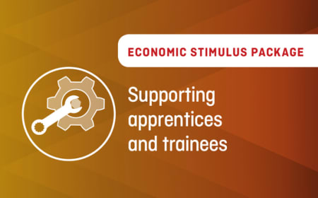 Economic Stimulus Package – Supporting apprentices and trainees