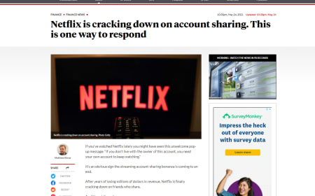 Netflix is cracking down on account sharing. This is one way to respond – The New Daily