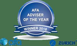 AFA - Adviser of the Year Winner 2018